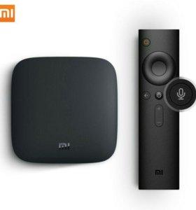 Xiaomi Mi Box 3 - приставка 4K HDR Android TV 7.0
