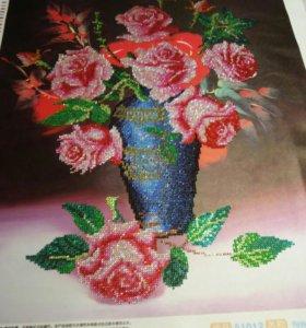 Картины ручной работы из камней Алмазная 5D мозайк