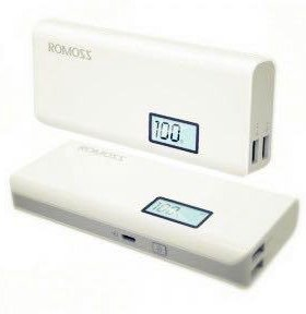Power bank Romoss 10 000 mAh с экраном