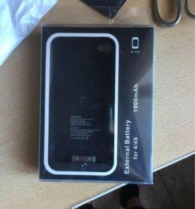 Чехол-аккумулятор на iPhone 4/4S