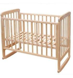 Кровать детская с матрассом