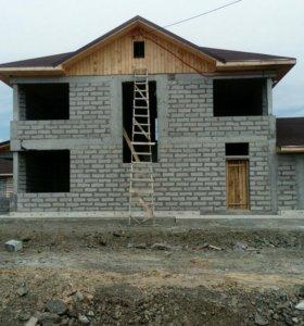 Капитальное строительство коттеджей дачных домов.