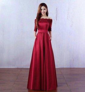 Новое выпускное платье.