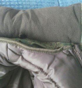 Камуфляж зимний, штаны и куртка, новый