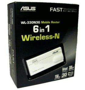 Новый беспроводной маршрутизатор asus wl-330n3g