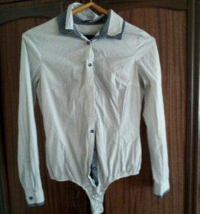 Боди- рубашка