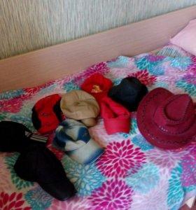 Кепки шляпы