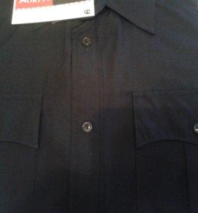Сорочка охранная черная