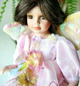Коллекционная фарфоровая кукла Cathay Collection.