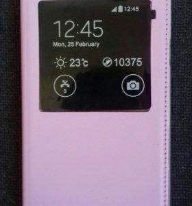 Чехол+защитная плёнка на Samsung Note3