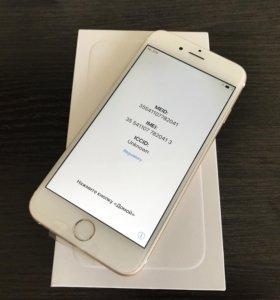 iPhone 6 64Gb Gold новый Ростест не реф