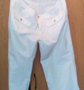 Белые летнии брюки
