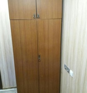 шкаф двустворчатый с андресолью