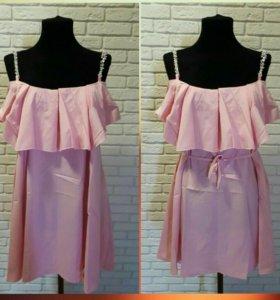 Новые платья в 4 расцветках