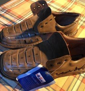 Новые мужские летние ботинки 42
