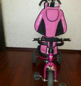 Велосипед детский с ручкой-толкателем
