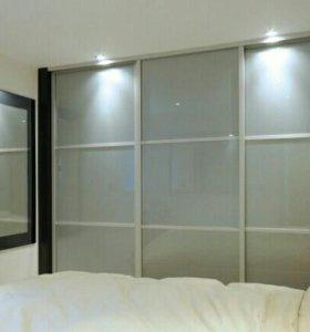 Шкафы-купе и гардеробные системы (заказные)