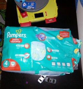 Трусики подгузники памперс 4
