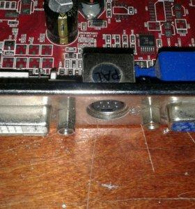 Видеокарта radeon 9600 256 mb agp