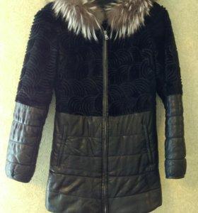 Куртка (кожа-мех) 42-44 р-р