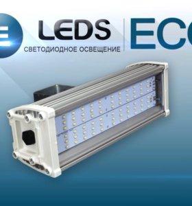 Светодиодное освещение: подсветка рекламы, фасадов