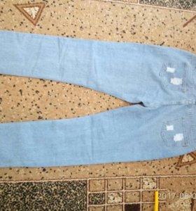 Новые джинсы 30 р-р