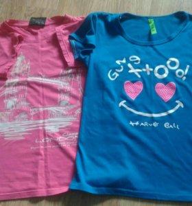 Майки футболки за 2 шт