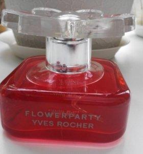 Т.вода Yves Rocher Flowerparty 30 ml.
