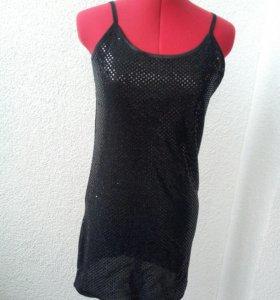 Платье новое черное