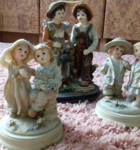 Фигурки керамические /сувенир. Чехия