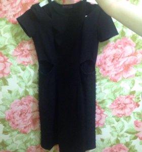 Платье с открытой спинкой Bershka