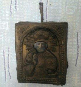 Икона 18-19 век. Николай чудотворец