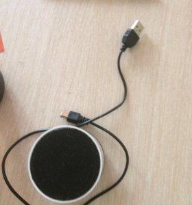 Колонка (Bluetooth) с проводом USB
