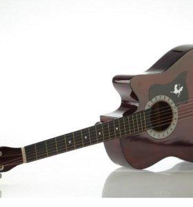 Акустическая гитара для начинаюших + Аксессуары