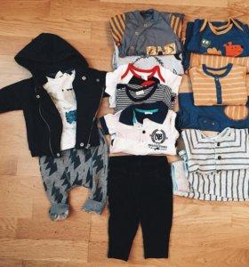 Пакет вещей для мальчика,62 р-р