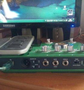 Процессор для акустической гитары Zoom A2.1u