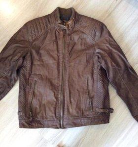 Куртка мужская кожзам размер XL