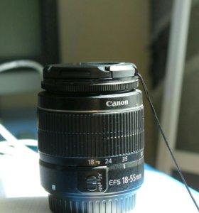 Обьектив 18-55 Canon Eos, |||, 58mm