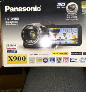 Видео камера Panasonic x900