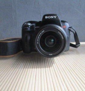 Фотоаппарат Sony Alpha dslr-A500