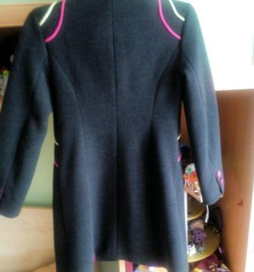 Пальто детское рост128-134.