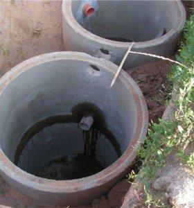Сливные ямы, земельные работы