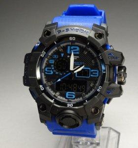 Мужские водонепроницаемые часы G-shock
