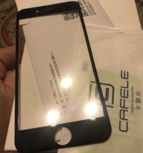 Стекло защитное iPhone 7