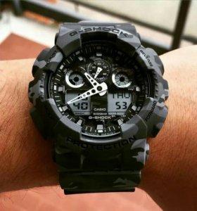 Casio G-Shock GA-100CM-8A Новые Оригинал