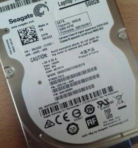 Продам жесткий диск 500 GB (ноутбук) новый