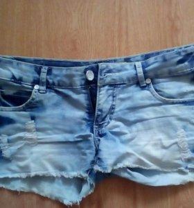 Шорты джинсовые 44_46