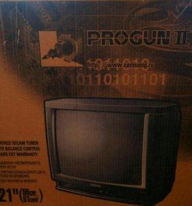 Телевизор Samsung progun 2. 21 дюйм