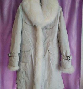Зимнее пальто с подстежкой