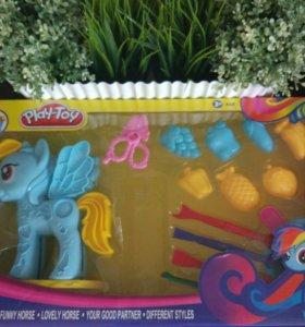 Пинкипай набор для игры с пластилином